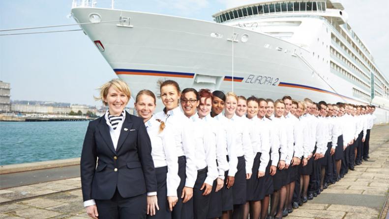 Trabajar en cruceros nacionales o internacionales
